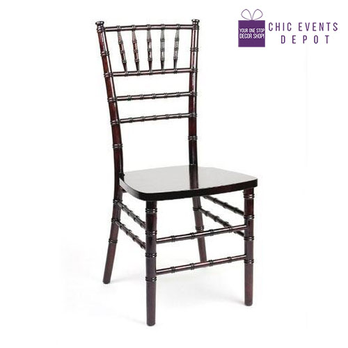 wood chiavari chairs chic events depot