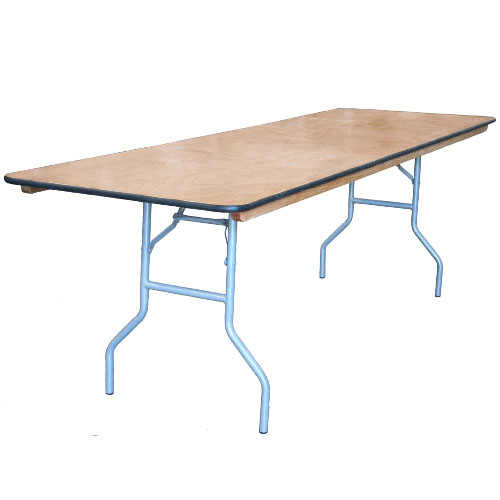 30 X 96 Commercial Plywood Folding Table